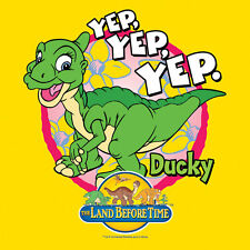 Land Before Time Ducky T-Shirt Toddler Baby Tee Yellow 2T 3T 4T