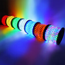 Flexible 150' LED Rope Light Indoor/Outdoor Decorative Party Holiday Light Kit