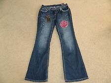 WOMEN'S ARIYA JEANS PANTS CURVY FIT FLARE PRINCE EDWARD NEW NWT