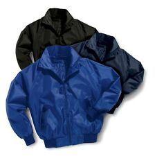 NYLON - TASLON JACKET.  Nylon Lined too!  Wind and Water Resistant Jacket!