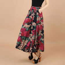New Stylish Wide Leg Loose Culottes Pants Trousers Casual High Waist Trousers