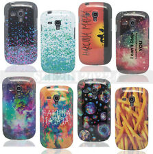 New Paint Pattern TPU Soft Silicone Case Cover For Samsung Galaxy S3 Mini I8190
