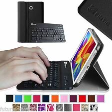 Leather Case Cover Bluetooth Keyboard Samsung Galaxy Tab 4 8.0 8 Tablet SM-T330