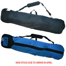 Padded Snowboard Travel Bag 168cm - Fits Boots & Bindings - Black or Blue/Black