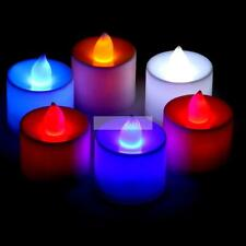 Flameless Tea Light Wedding Party Flickering Flicker LED Candle Tealight Tea Hot