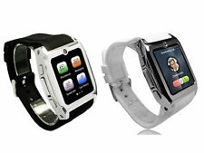 Smart Wrist Watch GSM Phone Camera Bluetooth Java Sync With Android Mobile Phone