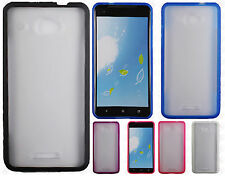 For Verizon HTC Droid DNA TPU Gel GUMMY Protector Hard Skin Case Phone Cover