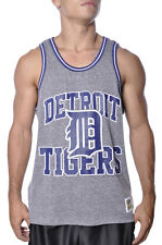 Mitchell Ness MLB Detroit Tigers Team Strike Three Cooperstown Muscle Tank Top