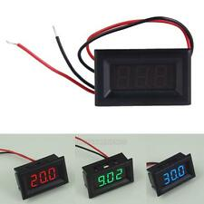 UN3F Two Wires Digital Voltmeter LED Display DC2.5-30V Voltage Meter