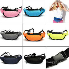 BUM BAG Fanny Pack Hip Waist Festival Sport Money Pouch Belt Wallet Holiday Kids