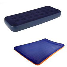 Inflatable Double / Single Air Bed Airbed Mattress for Indoor or outdoor Camping