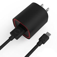 OEM 2.1 amp Rapid  Home Wall AC Charger & Micro USB Cable for Verizon Cell Phone
