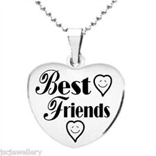 Best Friends Necklace & Pendant - Stainless Steel Can Be Personalised