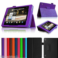 """For Acer Iconia TAB A1-810 7.9"""" inch Tablet Folio Leather Case Cover Skin Stand"""