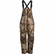 New Cabela's Men's Insulated Breathable Waterproof Hunting Bibs Realtree AP Camo