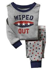 NWT BABY GAP BOYS PAJAMAS PJS   wiped out surf surfboard    you pick size