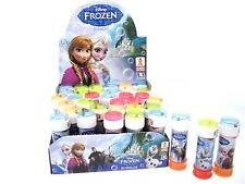 DISNEY FROZEN BUBBLES CHILDRENS PARTY BAG FILLERS WITH WAND & MAZE GAME 60ML