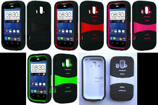 LOTS OF 3 items Faceplate Phone Cover PRO ARMOR U-Case FOR ZTE Overture Z995