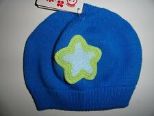 NWT Hanna Andersson XXS XS 0-3 3-12 Snug as a Bug Star Hat Boy's Blue