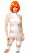 Sexy Womens Leeloo Fifth Element Cosplay Halloween Costume
