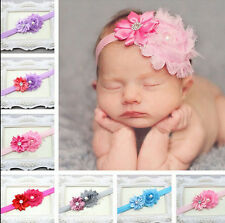 1PCS Kid Girl Baby Toddler Infant Flower Headband Hair Bow Band Accessories New