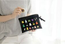 Ghost POP Daily Cosmetic Pouch Make up Case Organizer Clutch (L)