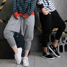 Men's Women's Hip Hop Harem Baggy Dance Pants Sports Sweatpants Trousers Fashion
