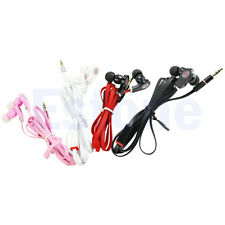 In-Ear 3.5mm Headset Earphone Earbud Headphone For iphone Samsung MP3 Cellphone
