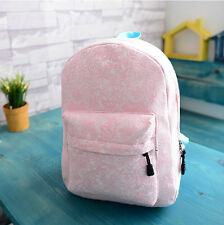 New Fashion Women  Lace Backpack Bag Schoolbag Tote Handbag Campus Bookbag