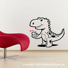 BABY DINOSAUR WITH EGG WALL STICKER DECAL jurassic wall mural quote d1