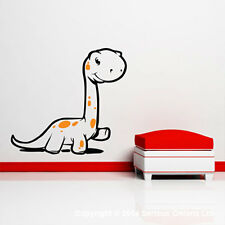 BABY DIPLODOCUS DINOSAURS WITH EGG WALL STICKER DECAL jurassic wall mural  d4