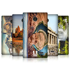 HEAD CASE FAMOUS LANDMARKS SNAP-ON BACK COVER FOR NOKIA X