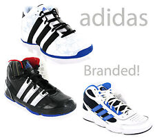 promo code 2b471 8ad58 Boys Adidas Hi-Top Baseball Basketball Trainers Shoes Size 13-6 UK New