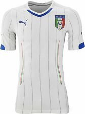 NEW 100% AUTHENTIC MENS SOCCER FOOTBALL ITALY 2014 WORLD CUP AWAY JERSEY T-SHIRT