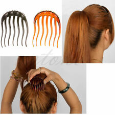 Useful Volume Inserts Hair Clip Bumpits Bouffant Ponytail Hair Comb Bun Hot