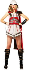 Assassin's Creed Ezio Ninja Animus Licensed Halloween Costume Outfit Adult Women