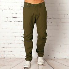 G Star Mens Omega Arc 3D Loose Chino In Olive From Get The Label