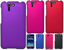 AT&T Asus PadFone X Rubberized HARD Protector Case Phone Cover + Screen Guard