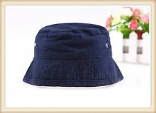 Boys Baby Children Toddlers Kids Denim Cotton Bucket Travel Beach Sun Hat Cap
