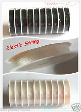 1 Roll DIY material Elastic Stretch Beading String Cord Wire Jewelry Making A