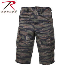 Tiger Stripe Camo Long Length BDU Shorts