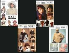 Vogue Sewing Pattern Hats Accessories One Size S M L 21 1/2 to 23 1/2  You Pick