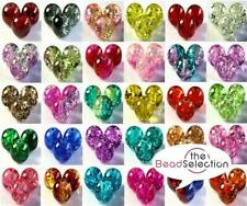 400x 4mm 200x 6mm 100x 8mm 50x 10mm ROUND CRACKLE GLASS BEADS 30 COLOURS