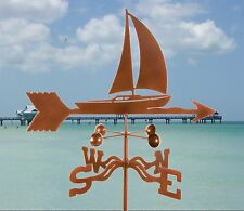 Sailboat Weathervane - Sailing - with Choice of Mount
