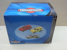 Teamsterz Vehicles.3 Emergency Vehicles/Tractors or Cattle Trucks. New Boxed