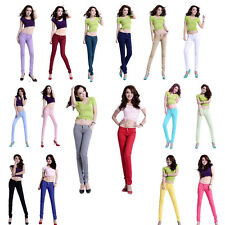 Hot Fashion Women 16 Candy Color Slim Feet Pencil Pants trouser Skinny  Jeggings