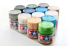 Tamiya 81501-81535 10ml Gloss Acrylic Paint Color Mini Bottle Model X-1 to X35