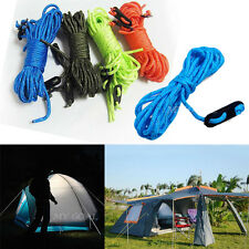 4PCS Fluorescent Runners Guy Line Camping Cord Paracord Guide Guyline Tent Ropes