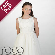 Girls Ivory Dress, Bridesmaid Dresses, Prom Dresses, Flower Girl Dresses