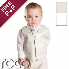 Baby Boys Christening Suits Boys White Suit Boys Ivory Suit Page Boy Suits